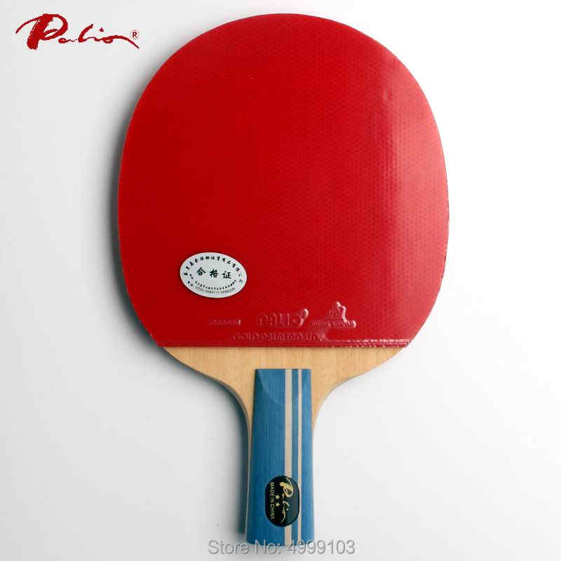 Original Palio 2 stars table tennis racket finished racket ping pong racket fast attack with loop racquet sports