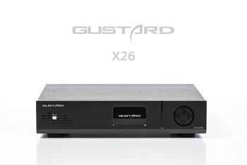 GUSTARD DAC-X26 DAC Dual ES9038PRO DSP PLL Native Balanced Decoder