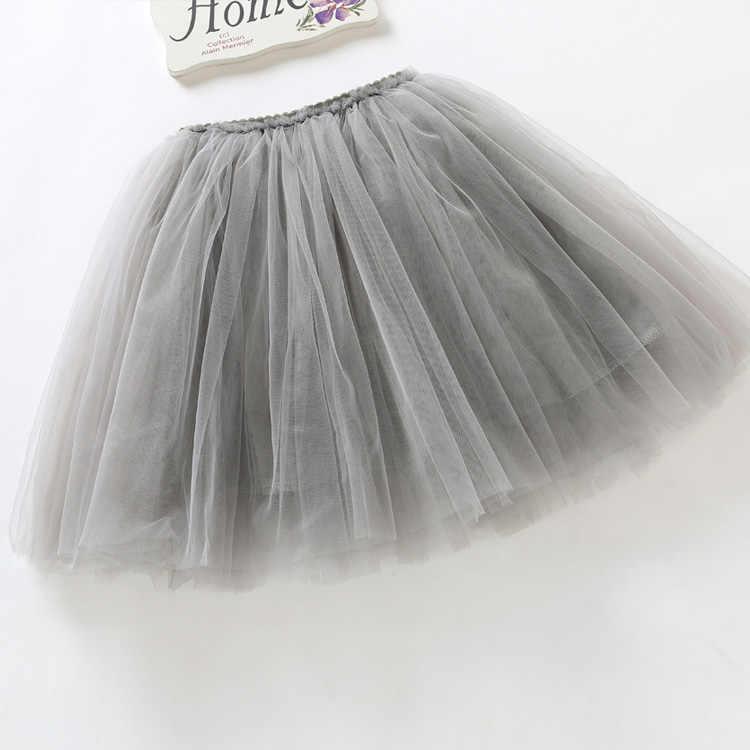 2019 faldas tutú para niñas, falda de verano, vestido de baile mullido, falda para niñas, faldas para niñas 12