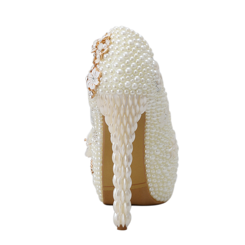Mariage formes Haute 8cm Chaussures Iovry Parti Personnalisé 14cm Luxe customized Adulte Plates Perle Option ivory Strass Cérémonie Femmes Mariée Heels Ivoire Talons 6cm Heels Diamant De 11cm 1wqIO8