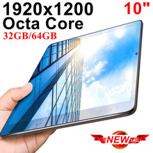 KUHENGAO Ultra Slim IPS 10 inch Tablet Android Tablet Pcs 8 Octa Core 4G LTE mobile phone android 32GB 64GB tablet pc 1920×1200