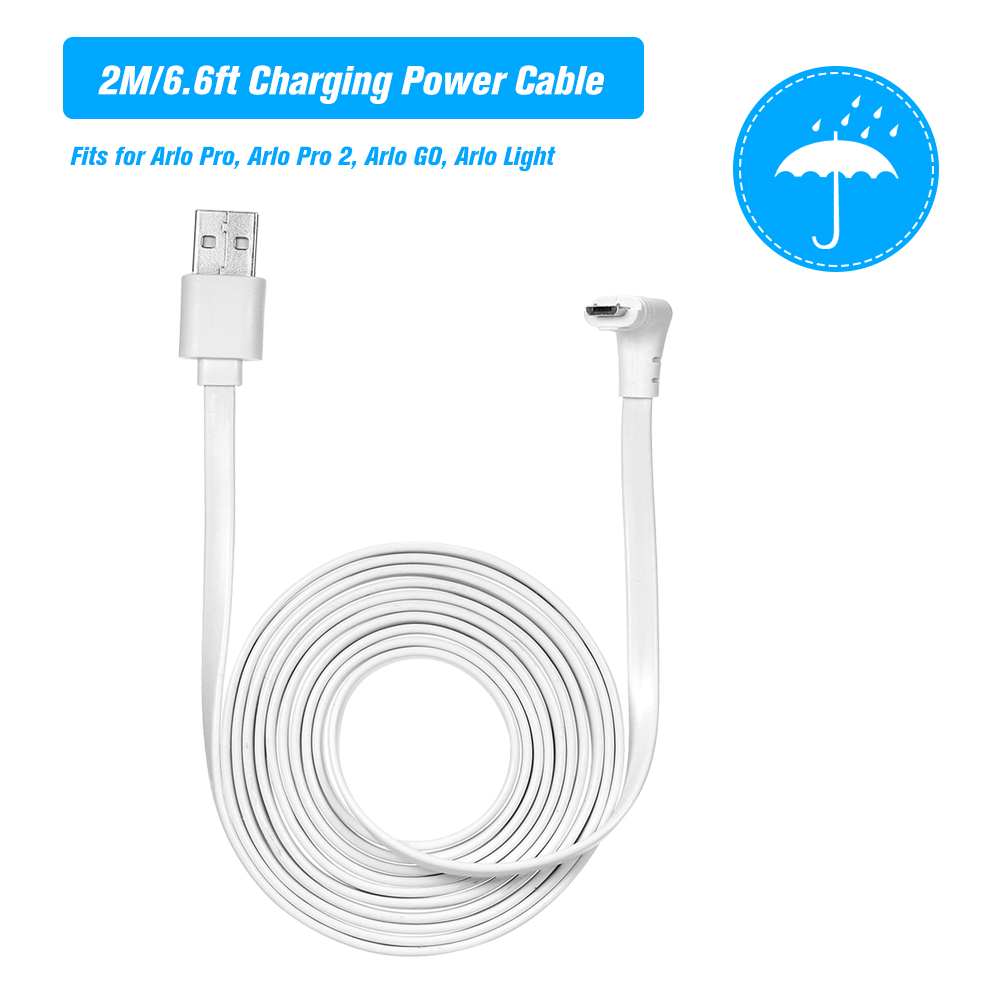 HOT SALE] 6M/20ft Charging Power Cable Fits for Arlo Pro