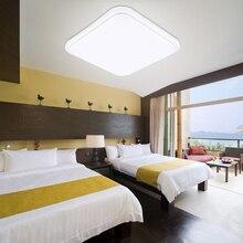 24 Вт квадратный светодиодный потолочный светильник AC 85 265 в Кристальный светодиодный светильник s Внутреннее освещение светильник