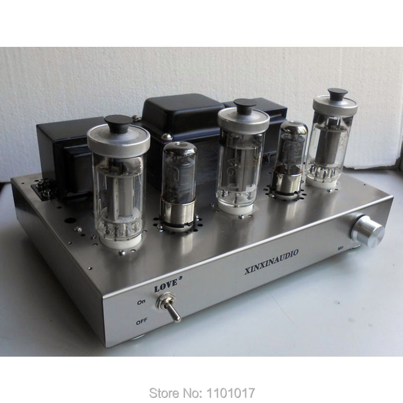 Xinxin FU50 5Z9P Tube Amplifier HIFI EXQUIS Class A Handmade with Triode Ultra-linear Swith Lamp Integraed Amp
