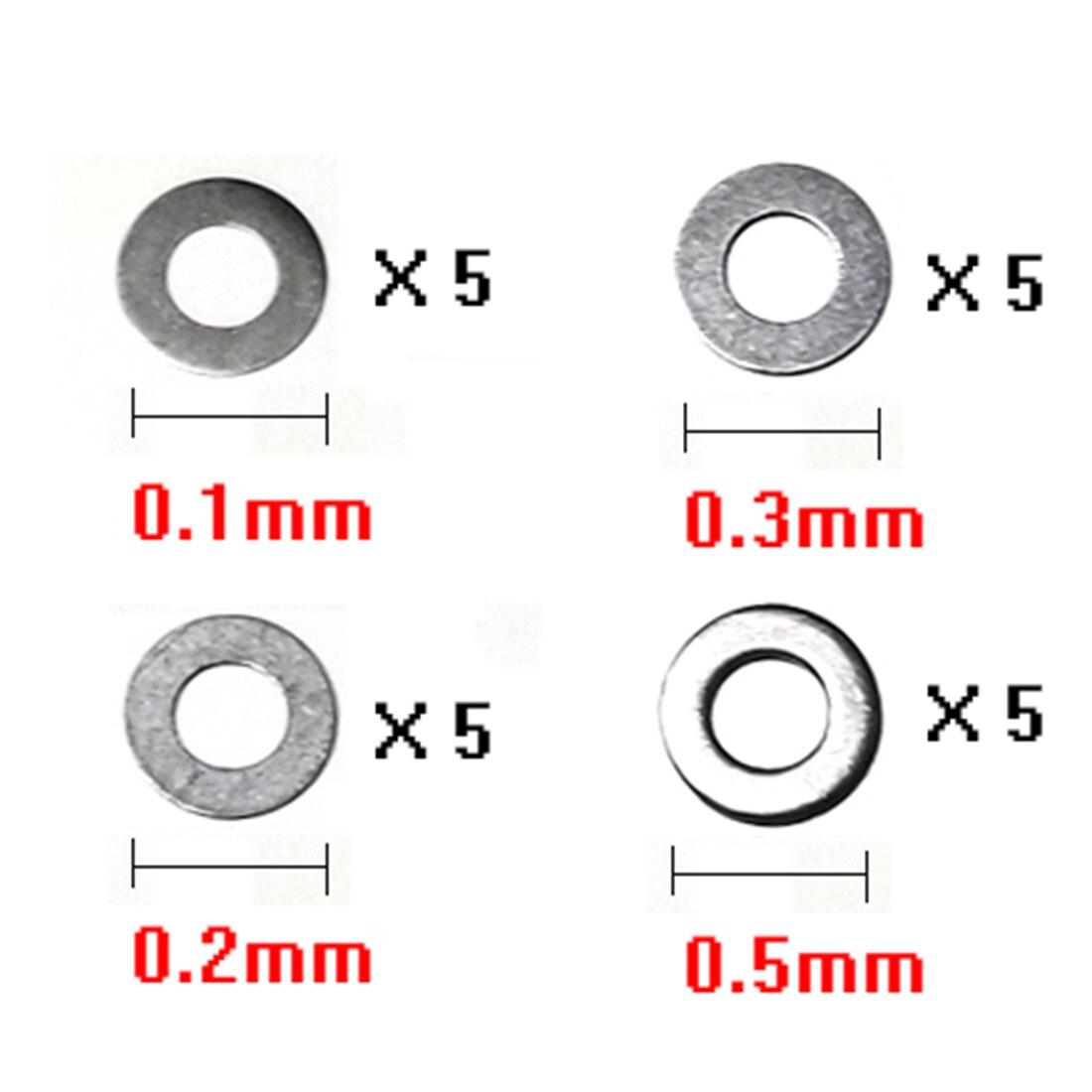 0,1mm/0,2mm/0,3mm/0,5mm Getriebe Dichtung Für Jm Gen.8 M4a1/jm Gen.9 M4a1/jm Gen.10-acr/xwe M4/lh Vector Getriebe Änderung Exquisite Handwerkskunst;