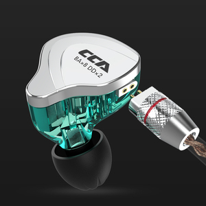 Image 5 - Cca C10 4ba+1dd Hybrid In Ear Earphones Hifi Dj Monito Running Sports Earphone 5 Drive Unit Headset Noise Cancelling Earbuds