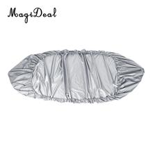 MagiDeal Professional Waterproof UV Protection Kayak Cover for Canoe Kayak Infalatable Fishing Boat Dinghy Accessories