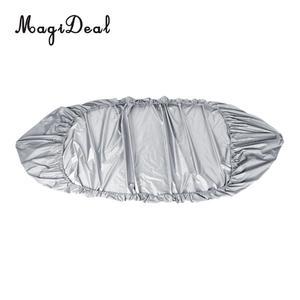 Image 2 - Wasserdicht UV Schutz Kajak Abdeckung Kajak Lagerung für Kanu Kajak Infalatable Fischerboot Schlauchboot Zubehör