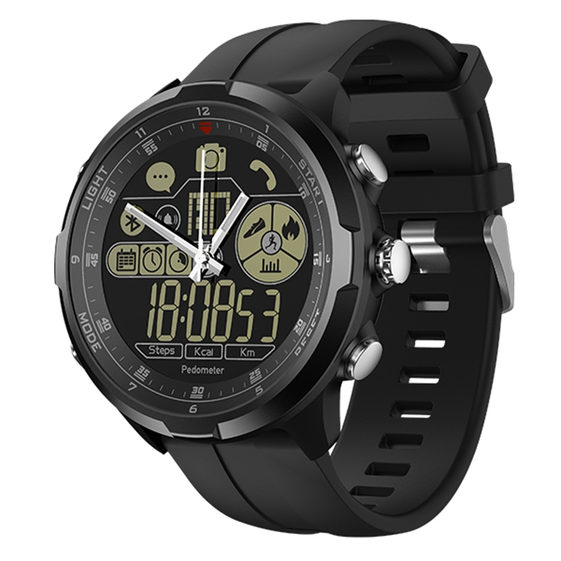 Zeblaze VIBE 4 Smart Watch Hybrid Flagship Rugged Smartwatch 50M Waterproof 33 month Standby Time 24h