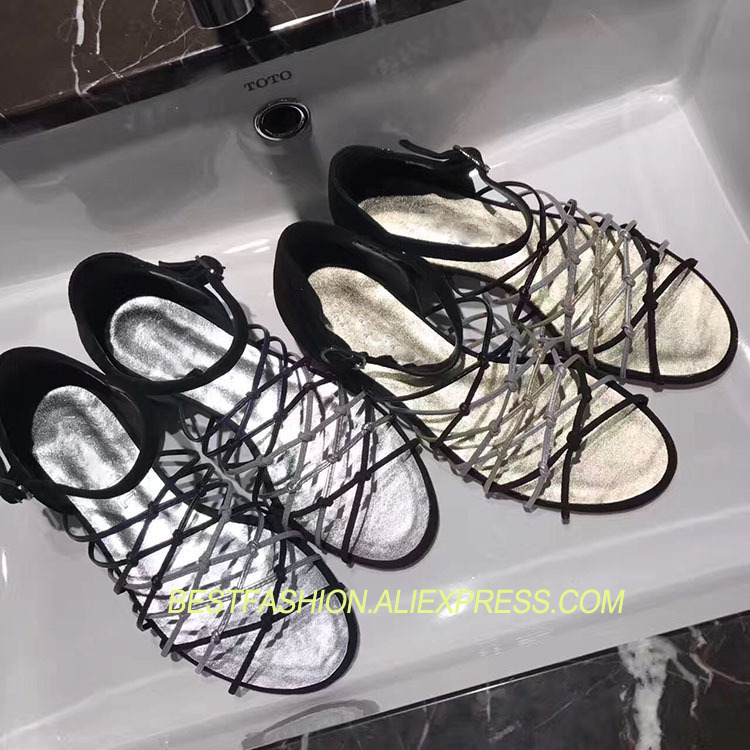 New Summer Shoes Woman Sandals Hollow Ankle Strap Flats Leather Cozy Sandals Designer Gladiator Sandals Woman Shoes FlatsNew Summer Shoes Woman Sandals Hollow Ankle Strap Flats Leather Cozy Sandals Designer Gladiator Sandals Woman Shoes Flats