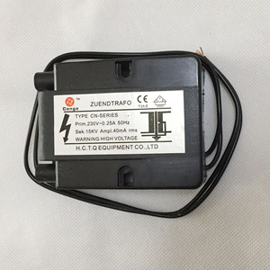Image 2 - Queimador de alta tensão pulso ignição cerâmica agulha caldeira combustão gás fogão ignitor duplo couplet faísca eletrodo