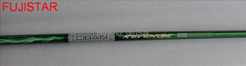 OBAN REVENGE RESERVE graphite material golf driver shaft S flex 335 Tip size 46inch length 68gms