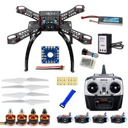 DIY RC Drone Quadrocopter Full Set RTF X4M380L Frame Kit with QQ Super flight control Motor ESC T8FB Transmitter 11.1V Battery