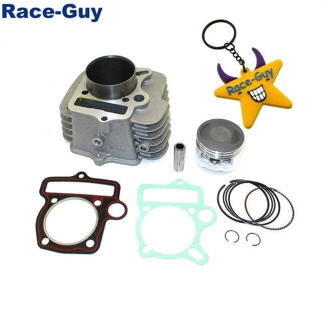 Yx140 cilindro do motor 56mm, junta de pistão para yx 140cc pit, dirt bike, óleo, refrigerado, motor › 150cc