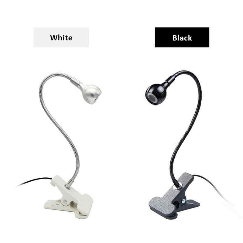 USB Reachargeble светодиодный светильник с зажимом на гибкой кровати для чтения настольная лампа для книги стол лампа для кровати освещение прикроватное освещение