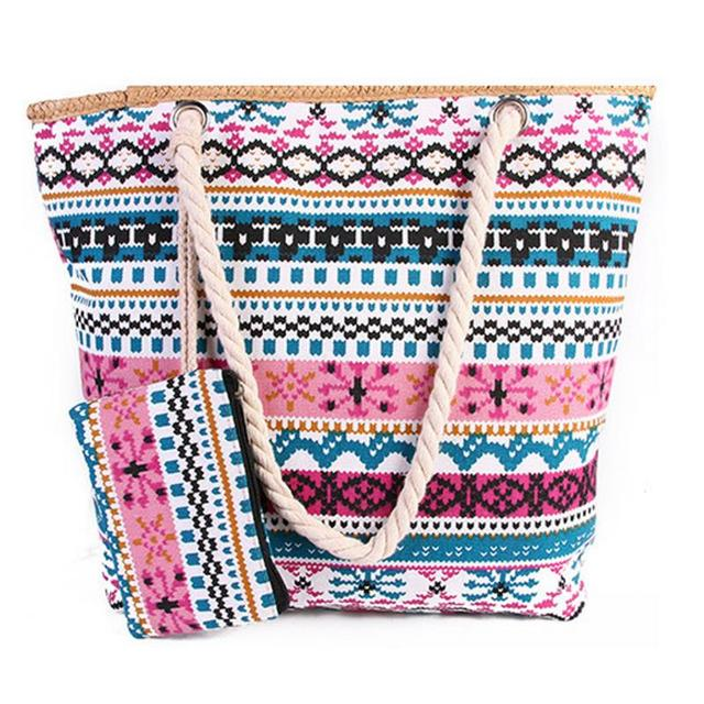 Beach Bag Australia For Women With Small Pouch