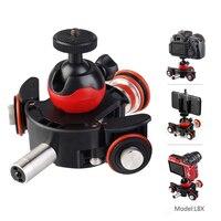 Универсальная для панорамной камеры для Canon для sony DSLR камеры электрическая тележка видеооператора трек слайдер моторизованный Slideway Rail сист...