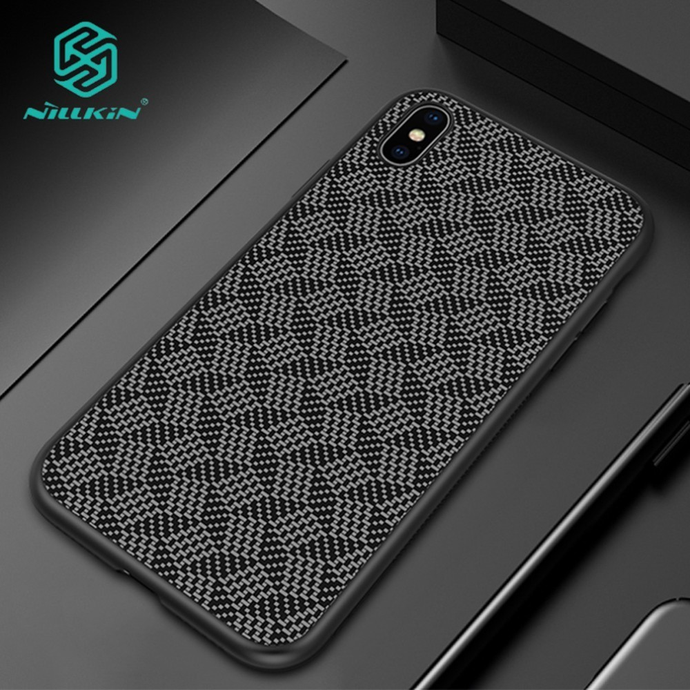 Nillkin Synthetic Carbon Fiber Cover Case For Apple iPhone XS Max XR Ultra thin Protector Shell X XS