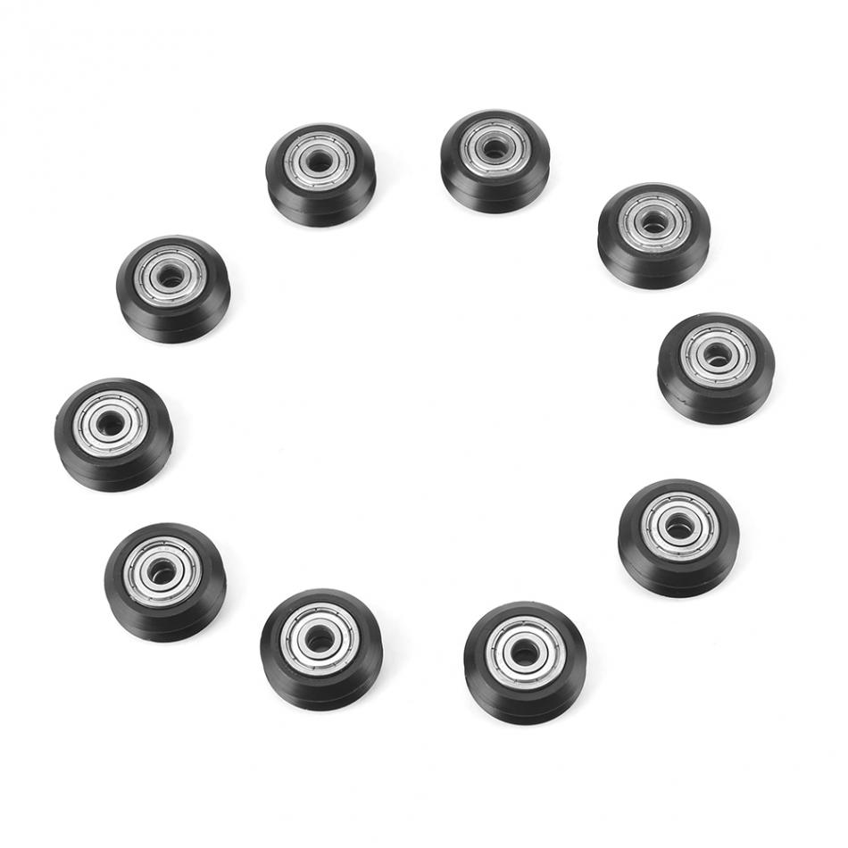 7PCS Motor Synchronous Belt Plastic Pulley Wheel Sheave for DIY Toys Parts