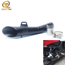 Motorcycle Exhaust Muffler Moto GP Laser 52MM Escape Moto For Yamaha R6 Exhaust R6 YZF GY6-125 CB400 ER-6N Vintage Cafe Racer
