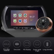 4.5 inch HD 1080P IPS Screen Digital Doorbell USB/Battery 170 Degree Camera Peep
