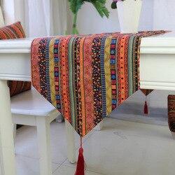 Borlas mesa corredor pano de mesa mesa de jantar esteira almofadas de café decoração para casa capa de mesa têxtil para casa
