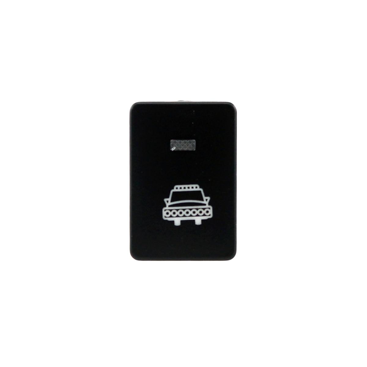12 V Auto Auto Scheinwerfer Muster Led Push-schalter Mit 150mm Kabel Für Toyota Ralink Yaris Highlander Reiz Corolla Prius Aromatischer Geschmack