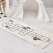 Folding Baby And Children Play Floor Mat Environme Numbers Mat Black&White Pad Floor For Baby Games Toy Easy To Carrying