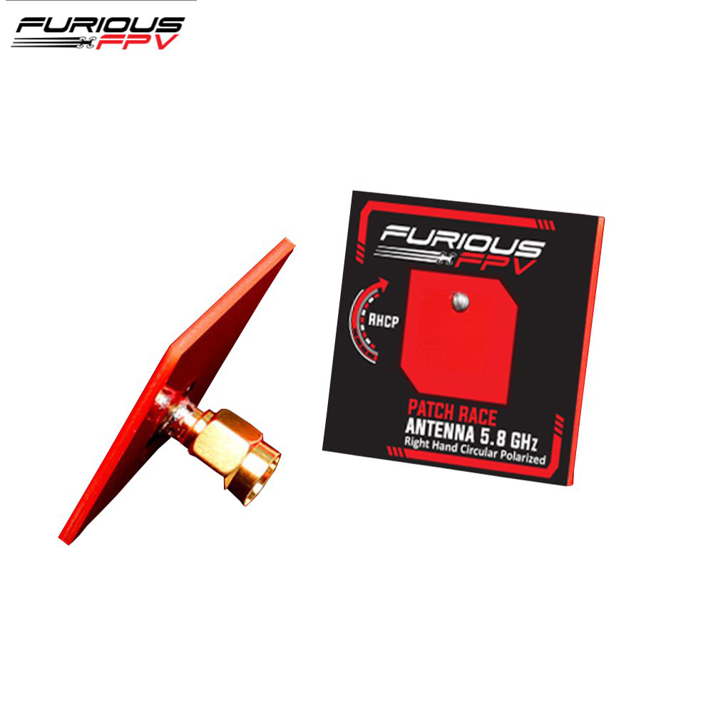 FuriousFPV 5.8GHz LHCP/RHCP 6.7dBi Feather Patch Race FPV Antenna & SMA Male Connector For RC Models Spare Part DIY AccessoriesFuriousFPV 5.8GHz LHCP/RHCP 6.7dBi Feather Patch Race FPV Antenna & SMA Male Connector For RC Models Spare Part DIY Accessories
