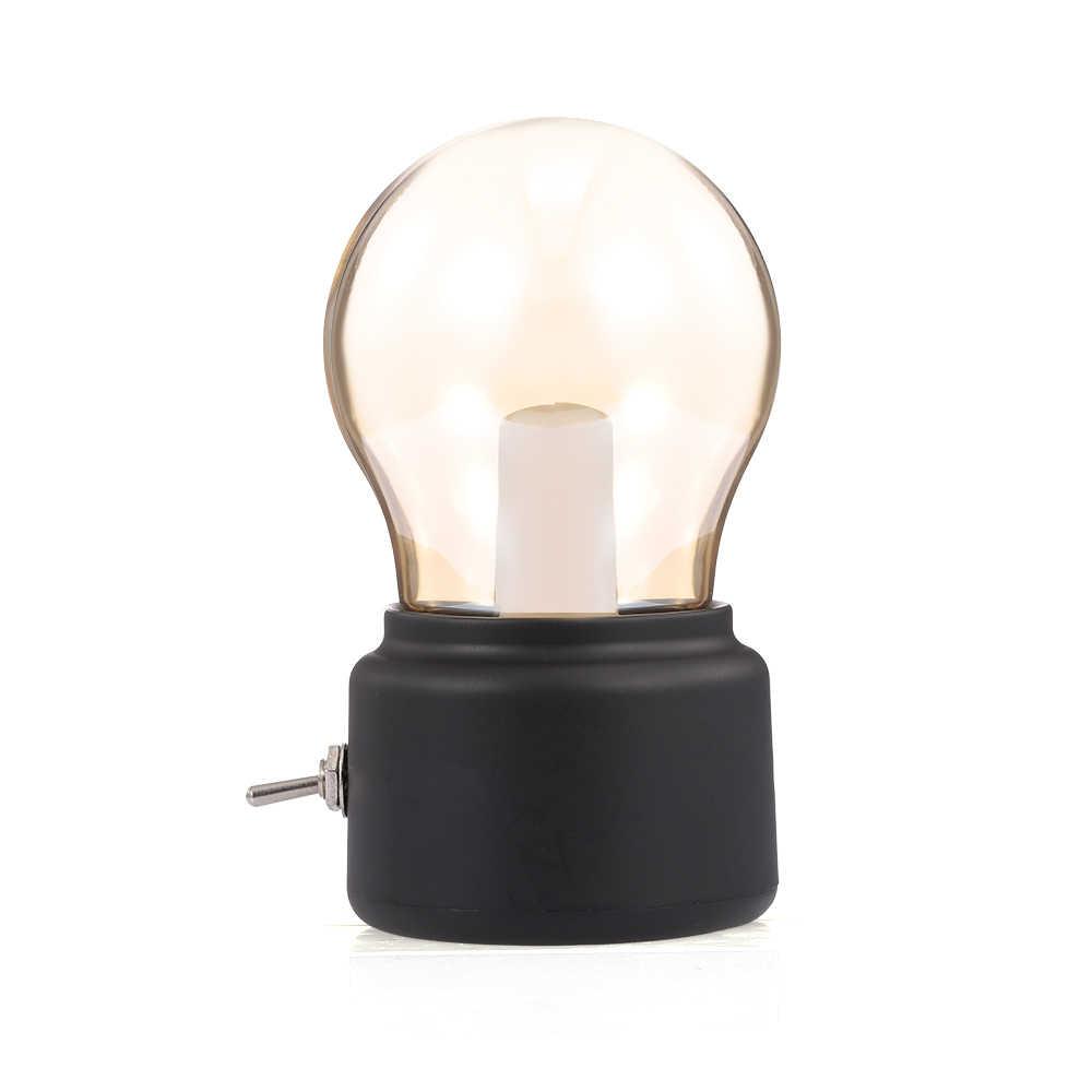 הנורה מנורת חיסכון באנרגיה USB נמוך מתח בציר אור הנורה נטענת לילה אור בטיחות נייד לבית שולחן נסיעות