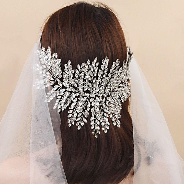 New Crystal Tiara Headband Luxury Bridal Hairbands Crown Headpiece Headdress Wedding Hair Accessories Bride Women Jewelry-in Hair Jewelry from Jewelry & Accessories on Aliexpress.com | Alibaba Group