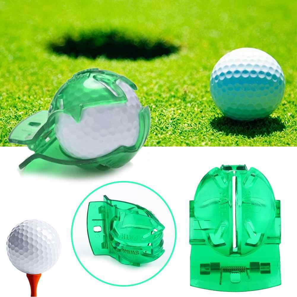 Mounchain 1 Pc Groen Transparant Golfbal Liner Putting Aids