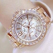 Стильный Для женщин кварцевые часы с бриллиантами Повседневное наручные часы для дамы леди часы элегантность Наручные часы