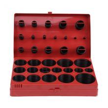 419 PCS ยาง O แหวนชุดชุด Assortment ซีลปะเก็น Universal ยาง O แหวนชุด R01 R32 เครื่องมือกล่อง