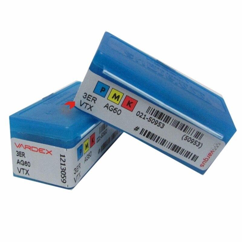 Vargas thread insert 3ER AG60 AG55 1 5 2 0 2 5 3 0 ISO VTX