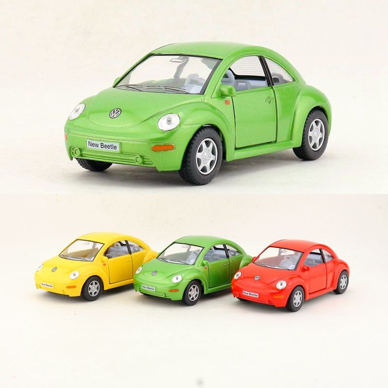 1967 Volkswagen Classical Beetle police kinsmart TOY car model 1//32 scale new