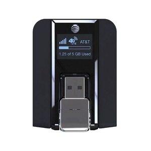 Image 3 - Feixe AirCard 340U (AT&T Desbloqueado) 4G Modem USB Sem Fio Preto NOVO