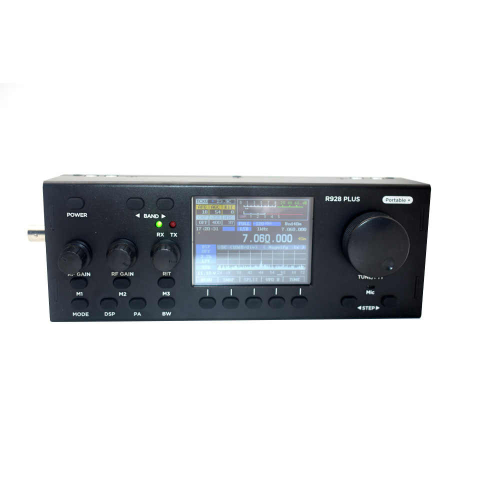 R928Plus Ham Radio Fm Broadcast Station 10W All Mode Mchf Hf Qrp  Transceiver(Us Plug)