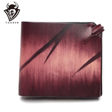 Limited Edition Collector's Leather Wallet Original Design Dip Dye Genuine Leather Wallet Card Holder Purse 2018 card holder personalityleather standard wallet new limited edition leather personalized design classic mafia pattern ha