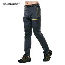 Arktyczne światło męskie campingowe spodnie do wędrówek pieszych Trekking wysoka rozciągliwość letnie wodoodporne szybkie suche przeciwsłoneczne outdoorowe spodnie sportowe
