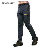 La lumière arctique hommes Camping randonnée pantalon Trekking haute Stretch été imperméable séchage rapide crème solaire en plein air Sport pantalon