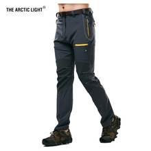 THE ARCTIC LIGHT Mens Camping Hiking Pants Trekking High Stretch Summer Waterproof Quick Dry Sunscreen Outdoor Sport Trousers