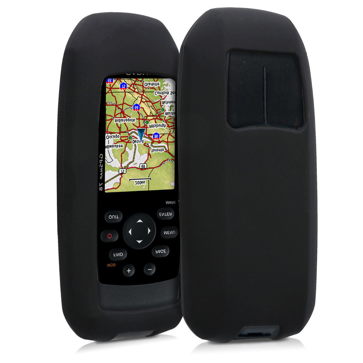 Silicon Black Case Protect Skin Cover for Garmin GPSMap 78 78s 73 AccessoriesSilicon Black Case Protect Skin Cover for Garmin GPSMap 78 78s 73 Accessories
