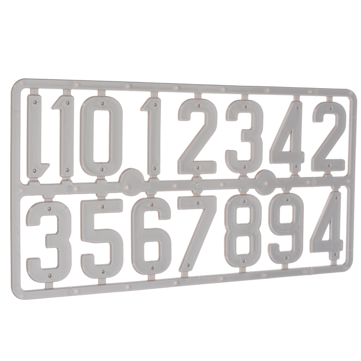 1pcs Plastic Beehive Digital Number Marking Board Bee Case Box Frame Signal Identification Beekeeping Equipment Tool