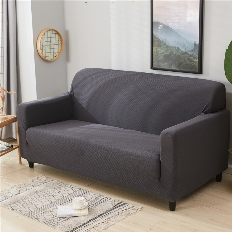 Slightly Waterproof Sofa Cover Anti-scratch High Elastic Classic Solid Color Thick Slipcover Couch Protector 1/2/3 SeatSlightly Waterproof Sofa Cover Anti-scratch High Elastic Classic Solid Color Thick Slipcover Couch Protector 1/2/3 Seat