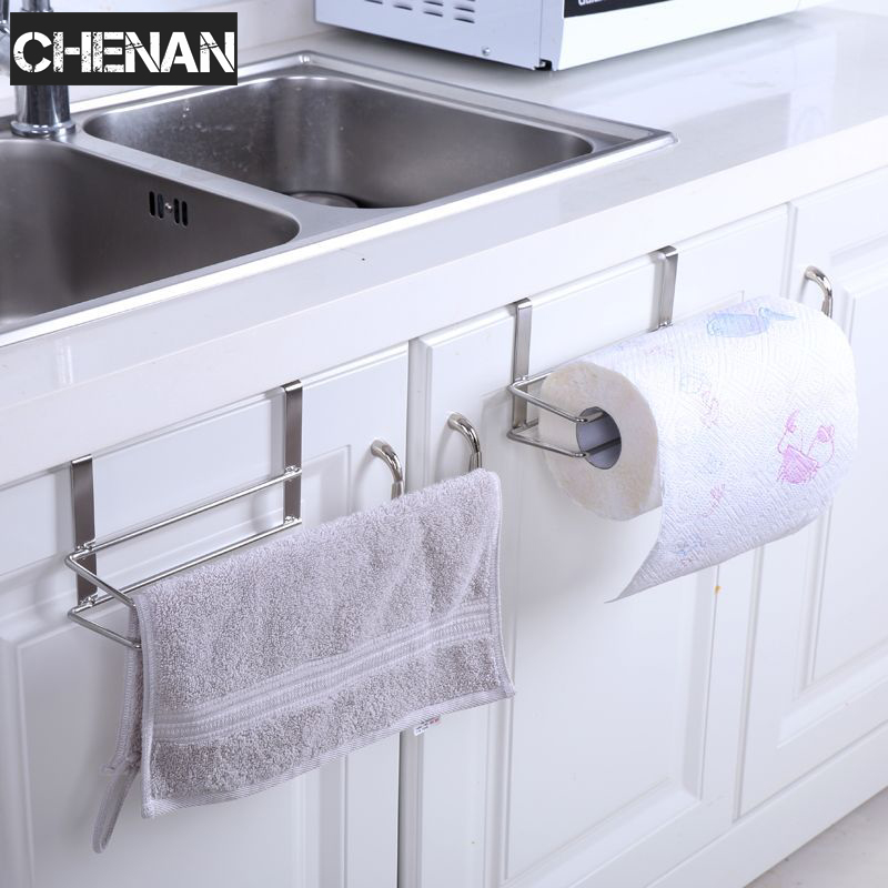 Kitchen Paper Holder Hanger Tissue Roll Towel Rack
