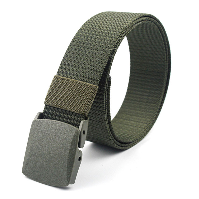 Military Nylon Adjustable Outdoor Travel Tactical Waist Belt 2