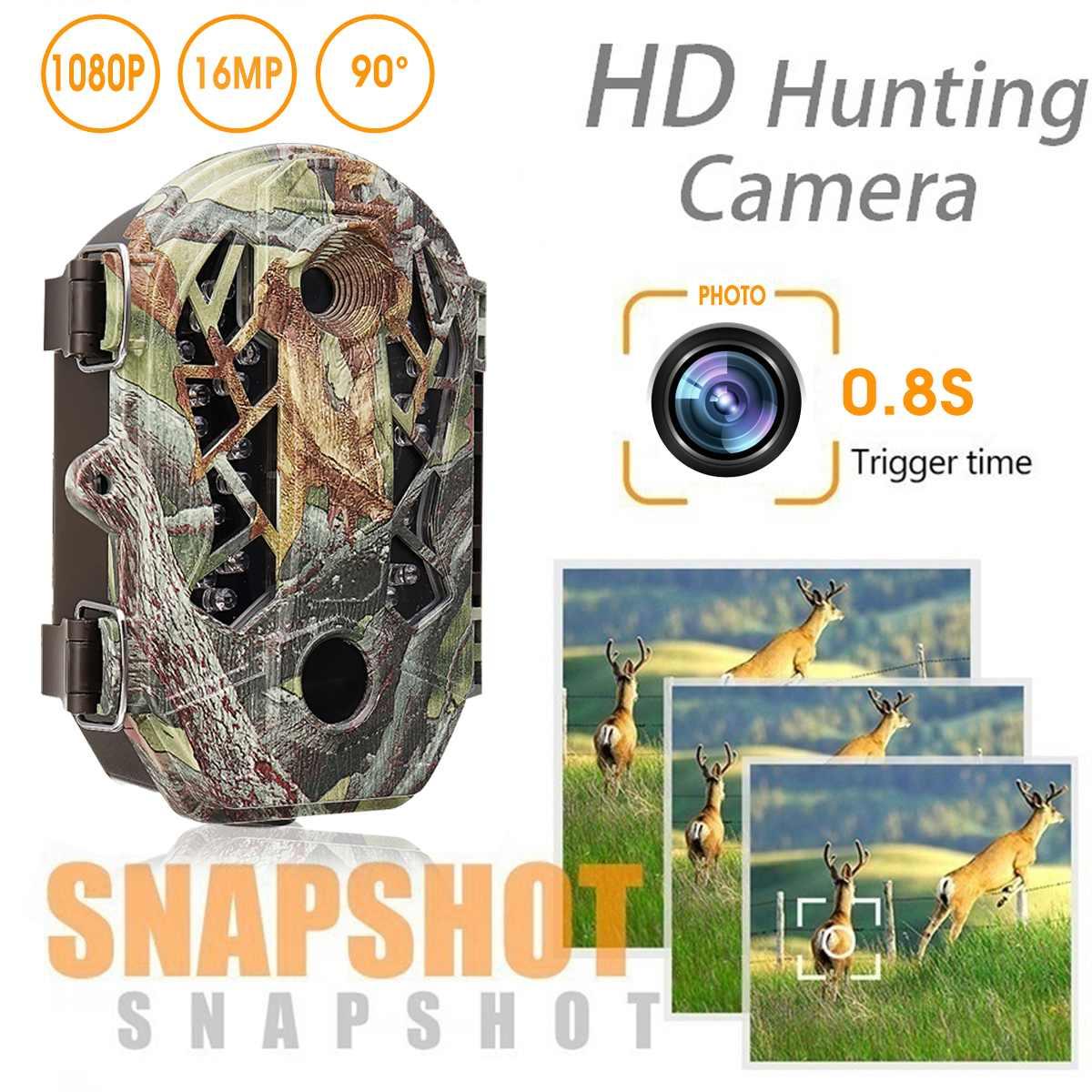 SUNCORE 16MP 1080 P chasse caméra Trail Scouting Vision nocturne de la faune avec caméra de Surveillance numérique grand Angle