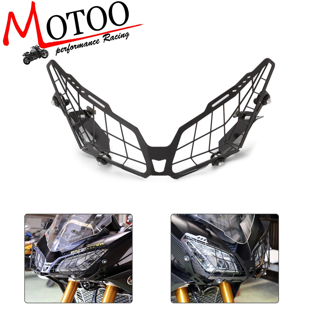 For YAMAHA MT09  Tracer 900 FZ09  Grille Headlight Protector Guard Lense Cover-in Covers & Ornamental Mouldings from Automobiles & Motorcycles    1