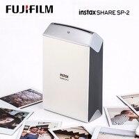 Fujifilm Instax Share принтер для смартфонов SP-2 два цвета серебро и золото Подлинная распродажа